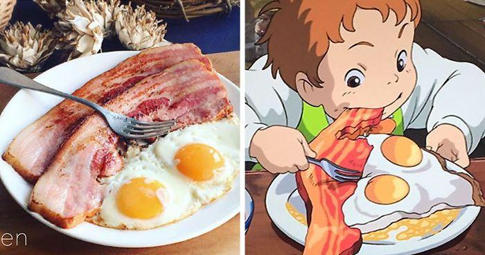 Ini Wujud Makanan Film Animasi Ghibli di Kehidupan Nyata
