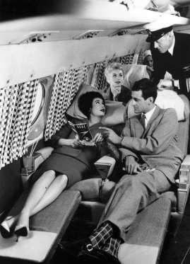 foto jadul kabin pesawat