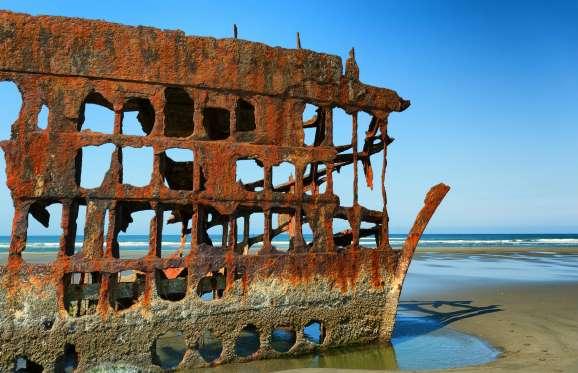 5 Foto Kapal Karam yang Sangat Menakjubkan dari Berbagai Tempat di Dunia