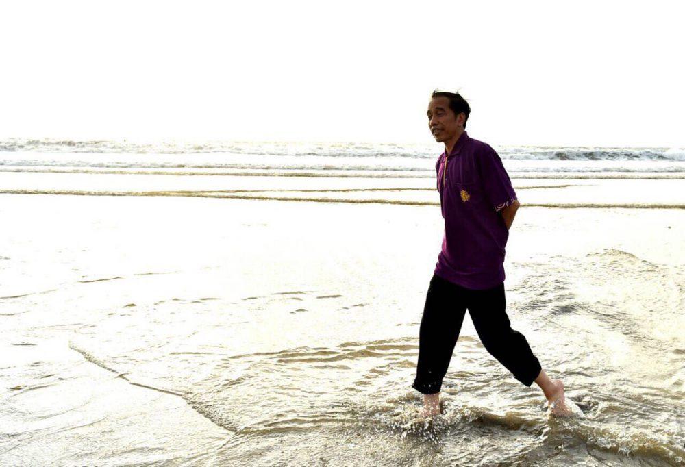 Jokowi Pastikan Bali Aman untuk Liburan, Meski Gunung Agung Erupsi