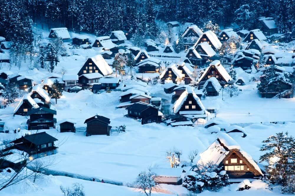 Liburan Musim Dingin di Jepang, Wajib Datang ke Destinasi Keren Ini