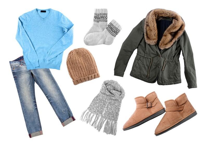 perlengkapan musim dingin
