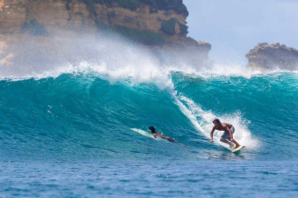 pantai tersembunyi di lombok
