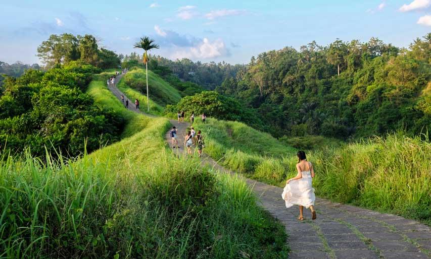 Vila dengan Pemandangan Indah di Bali, Cocok Untuk Honeymoon