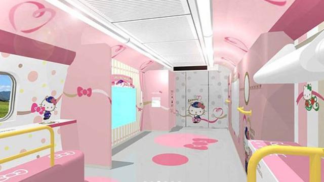 Kereta Hello Kitty